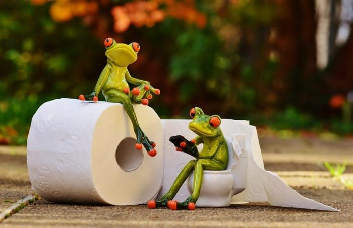 how to use toilet paper