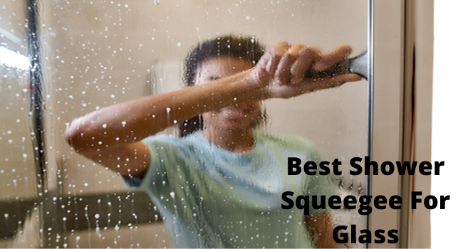 best shower squeegee for glass