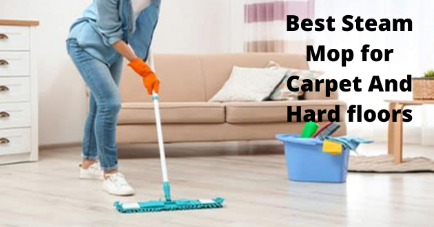 best steam mop for carpet and hard floors